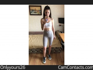 Webcam model Onlyyours26 from CamContacts