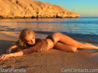 Webcam model StarsPamela from CamContacts