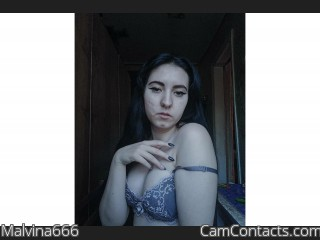 Webcam model Malvina666 from CamContacts