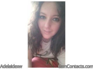 Webcam model Adelaidexw from CamContacts