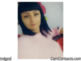 Webcam model twigxzl from CamContacts