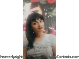 Webcam model heavenlysight from CamContacts