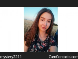 Webcam model mystery2211 from CamContacts