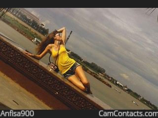 Webcam model Anfisa900 from CamContacts