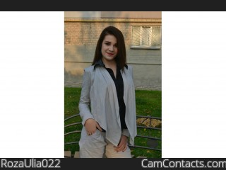 Webcam model RozaUlia022 from CamContacts