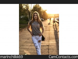 Webcam model marinchiikk69 from CamContacts