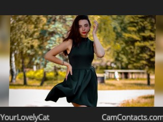 Webcam model YourLovelyCat from CamContacts