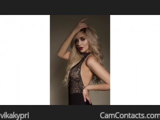 Webcam model vikakypri from CamContacts