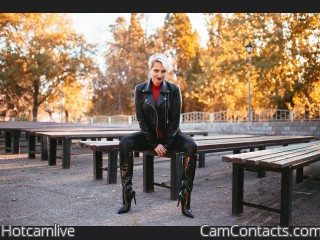 Webcam model Hotcamlive from CamContacts