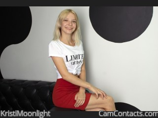 Webcam model KristiMoonlight from CamContacts