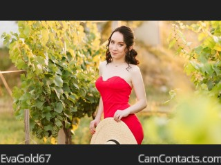 Webcam model EvaGold67 from CamContacts