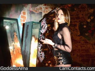 Webcam model GoddessAlma from CamContacts