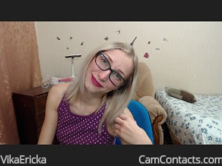 Webcam model VikaEricka from CamContacts