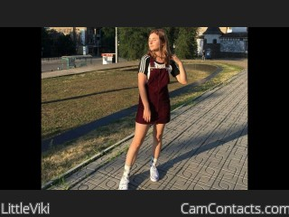 Webcam model LittleViki from CamContacts