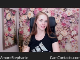 Webcam model AmoreStephanie from CamContacts