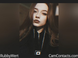 Webcam model RubbyWert from CamContacts