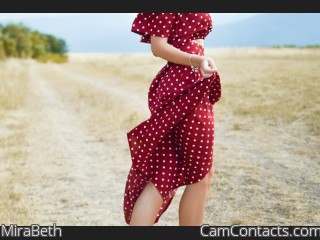 Webcam model MiraBeth from CamContacts