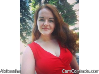 Webcam model Aleksasha from CamContacts