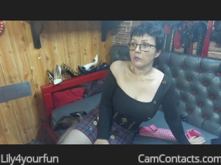 Webcam model Lily4yourfun from CamContacts