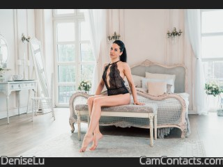 Webcam model DeniseLu from CamContacts