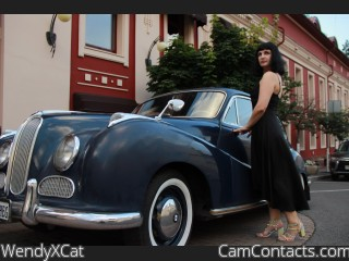 Webcam model WendyXCat from CamContacts
