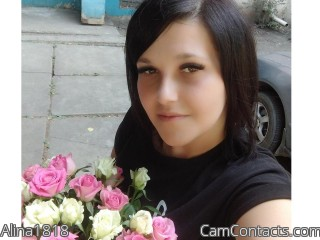 Webcam model Alina1818 from CamContacts
