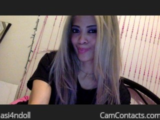 Webcam model asi4ndoll from CamContacts