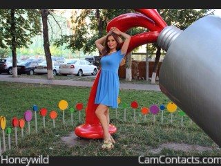 Webcam model Honeywild from CamContacts