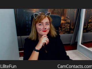 Webcam model LiliteFun from CamContacts