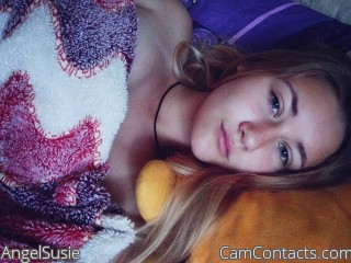 Webcam model AngelSusie from CamContacts