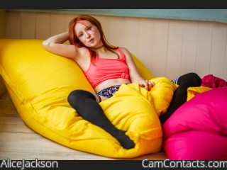 Webcam model AliceJackson from CamContacts