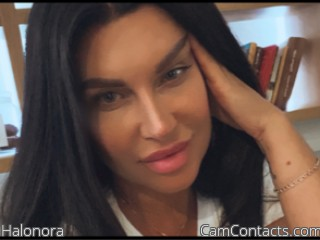 Webcam model Halonora from CamContacts