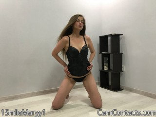 Webcam model 1SmileMaryy1 from CamContacts