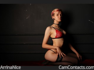 Webcam model ArrinaNice from CamContacts