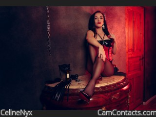 Webcam model CelineNyx from CamContacts