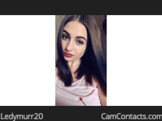 Webcam model Ledymurr20 from CamContacts