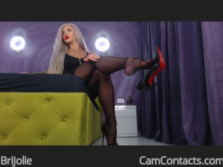 Webcam model BriJolie from CamContacts