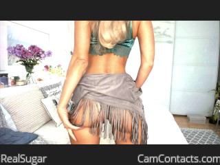 Webcam model RealSugar from CamContacts