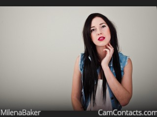 Webcam model MilenaBaker from CamContacts