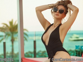 Webcam model SHEZEL from CamContacts