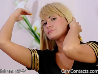 Webcam model MirandaVVV from CamContacts