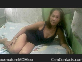 Webcam model xxxmatureMOMxxx from CamContacts