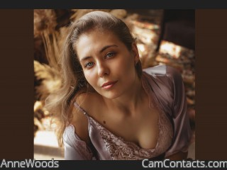 Webcam model AnneWoods from CamContacts