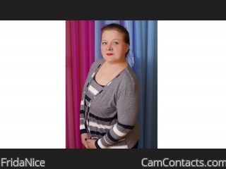 Webcam model FridaNice from CamContacts