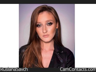 Webcam model RuslanaSavch from CamContacts