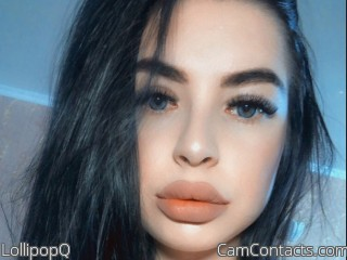 Webcam model LollipopQ from CamContacts