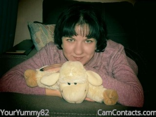 Webcam model YourYummy82 from CamContacts
