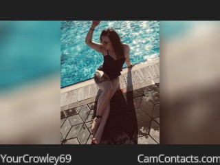 Webcam model YourCrowley69 from CamContacts