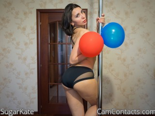 Webcam model SugarKate from CamContacts