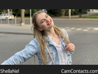 Webcam model SheilaNel from CamContacts